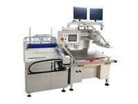 HY-D56 Double-sided Dust Removal Automatic Screen Printing Machine